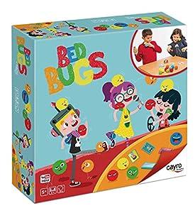 Cayro - Bed Bugs ¡atrapa Las chinches!- juego de mesa - Juego de Expresión verbal y comunicación - Desarrollo de habilidades motrices y manuales - Juego de mesa (341)