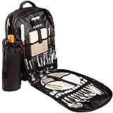 Brubaker Picknickrucksack Picknicktasche mit Inhalt für 4 Personen mit Integrierter Kühltasche und...