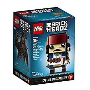 LEGO 41593 BrickHeadz Capitano Jack Sparrow Disney