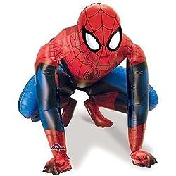 Amscan Globo de foil andante de Spiderman de 91cm x 91cm.