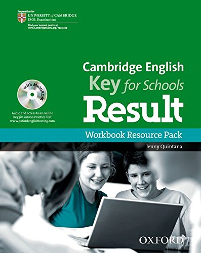 Cambridge English: Key for Schools Result: KET Result for Schools Workbook without Key Pack
