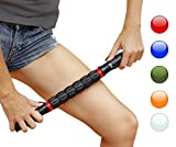 Faszienroller mit  Griff – Triggerpunkt Massage Stick zur Muskelentspannung & Muskelkater Linderung – Massageroller Stab zur
