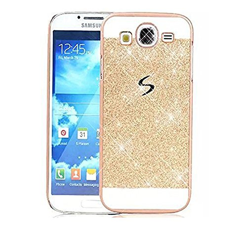 S.M.KMOBILES Sparkling PC Luxury Glitter Hybrid Bling Shiny Sparkling PC Hard Back Cover & Case for Samsung Galaxy Grand 2 Duos - Gold  available at amazon for Rs.299