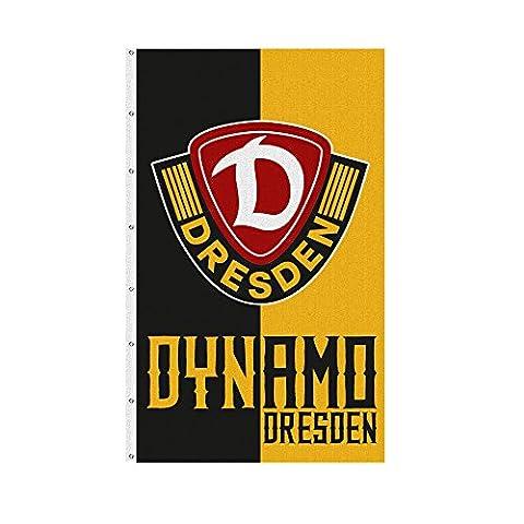 SG Dynamo Dresden Hissfahne schwarz-gelb 150 x 250 cm