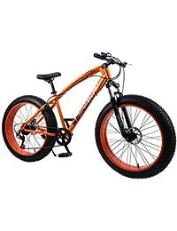QJ Frenos para Bicicleta Estudiantes Masculinos Y Femeninos Carretera Velocidad Doble Choque del Disco De Bicicletas para Adultos,30 Speed,26in