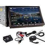 HD PUPUG GPS Navigator 7 'Logo HD Double 2 Din Autoradio r¨¦cepteur DVD 3D PIP Bluetooth TV multim¨¦dia C¨¢mara universelle Automobile Universal Audio VCD Autoradio Audio
