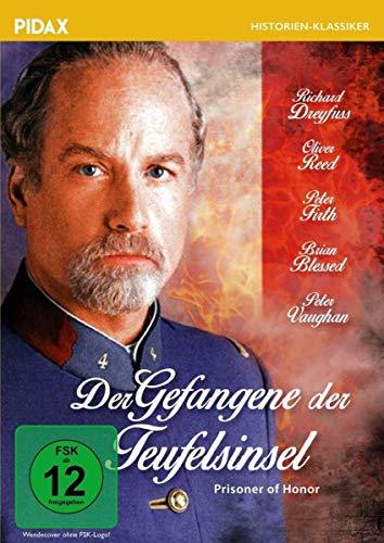 Der Gefangene der Teufelsinsel (Prisoner of Honor) / Spannungsgeladener Abenteuerfilm mit Starbesetzung (Pidax Film-Klassiker)