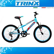 "KINDER FAHRRAD MOUNTAINBIKE TRINX Junior 1.0 MTB 20"" gefedert Shimano 6Gang BMX"