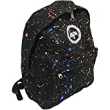 Hype Primary Splat Speckled Backpack Rucksack Bag Black