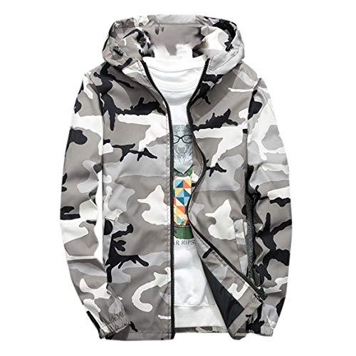 Männer Camouflage Hoodies Mann im Freien Mantel Mode Winter Hoodie Softshell gedruckt Patchwork wasserdicht Winddicht Windjacke Moonuy