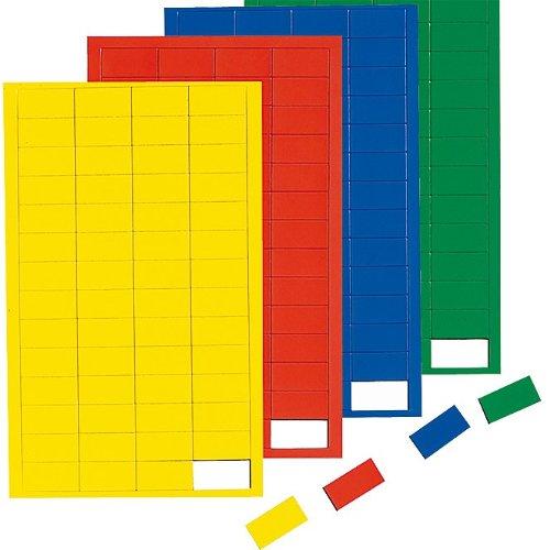 Blau Magnetsymbole Rechteck, Magnet für Planungstafel, Whiteboard, Blau