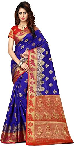 Vatsla Enterprise Self Design Paithani Banarasi Silk (VSWNRNPURPLERCH002)