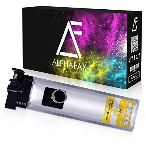 Alphafax Tintenpatrone für Epson Workforce Pro WF-C5210DW WF-C5290DW WF-C5710DWF WF-C5790DWF C13T945440 T9454 Yellow 5000 Seiten - Epson Drucker Handbuch