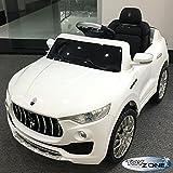 ToyZone Kinderfahrzeug Maserati Levante Kinder Elektro Auto 2,4 GHZ RC Steuerung