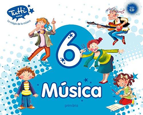 Música 6 (Inclou CD) (Valenciano) - 9788483484289