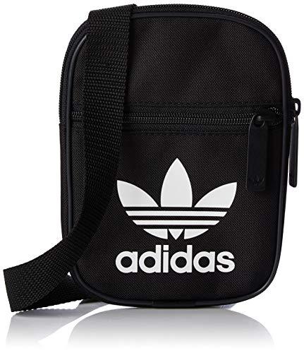 adidas Trefoil Festival Bag DV2405 Umhängetasche, 17 cm, 1 Liter, Black