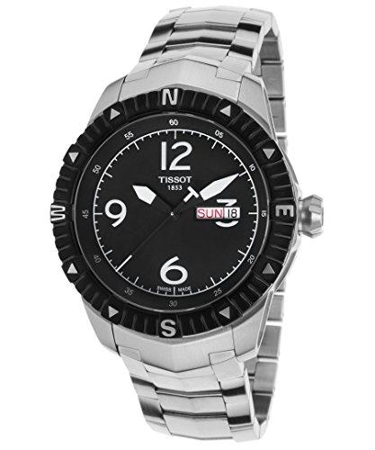 Tissot Reloj Analógico para Hombre de Automático con Correa en Acero Inoxidable T062.430.11.057.00