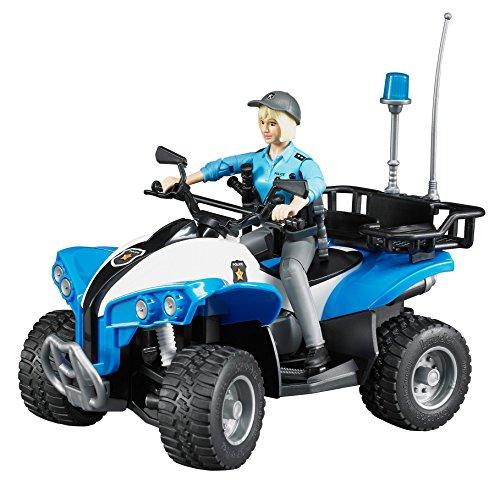 bruder 63010 - Polizei-Quad mit Polizistin und Ausstattung