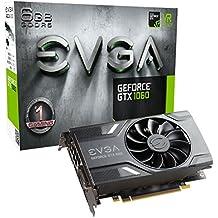 EVGA 06G-P4-6161-KR GeForce GTX 1060 6GB GDDR5 - Tarjeta gráfica (NVIDIA, GeForce GTX 1060, 7680 x 4320 Pixeles, 1506 MHz, 1708 MHz, 7680 x 4320 Pixeles)