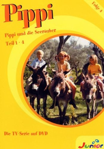 DVD 4: Folge 14-17 - Pippi und die Seeräuber