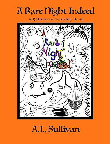 A Rare Night Indeed: A Spooky, Spirited, Fright Night Halloween Poem (English - Kinder Halloween-gedichte Spooky Für