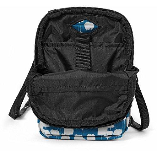 Eastpak Buddy Borsa Messenger, 18 cm, 0.5 L, Multicolore (Flow Blue) Blu (Flow Blue)