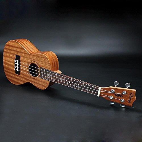 Imagen de g&z 23 pulgadas soprano acústica eléctrico ukelele  4 cuerdas hawaiano  alternativa
