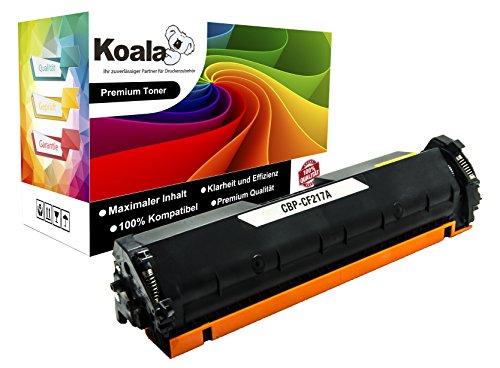 Koala Toner Ersatz für HP-CF217A CF217A 17A (mit Chip!) Kompatibel mit HP Laserjet Pro M102 A/m102 W/FP m130 a/MFP m130fn/MFP m130fw/MFP m130nw