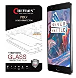Chevron Ballistic Nano Tempered Glass Screen Protector Scratch Free Slim Guard For OnePlus 3 best price on Amazon @ Rs. 99