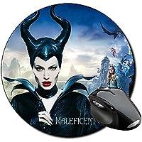 Malefica Maleficent Angelina Jolie A Alfombrilla Redonda Round Mousepad PC