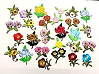 Confezione con 10 Fiori assortiti in tessuto termoadesivi, colori e misure differenti. Ogni confezione ha una combinazione diversa di fiori, tuttavia riceverete 10 diverse fantasie. La misura dei fiori varia da 20mm a 50mm. Queste toppe sono ...