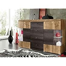 Sideboard nussbaum satin  Suchergebnis auf Amazon.de für: Sideboard in Nussbaum Satin, Touchwood