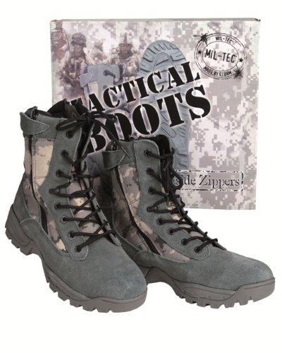 Mil-Tec Tactical Boots Two Zipper at-digital Gr. 11