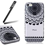 Ukayfe Coque en Silicone Etui de Protection Transparent Ultra Slim Souple Cristal...