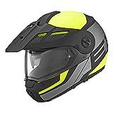 Schuberth Casco da motociclismo flip up E1 Dvs, colore giallo