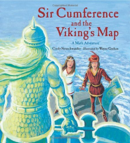 Sir Cumference and the Viking's Map (Charlesbridge Math Adventures (Paperback)) by Cindy Neuschwander (2012-02-01)
