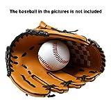 Rowentauk Baseballhandschuh Batting Handschuhe Catcher's Mitt mit Baseball PU-Leder Linke Hand Handschuhe für Erwachsene Jugend Kinder (ausschließen Baseball)