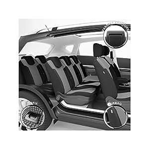 Housse de siège Auto / Voiture - Sur Mesure - Finition Haut de Gamme - Montage Rapide - Compatible Airbag - Isofix - 1012553