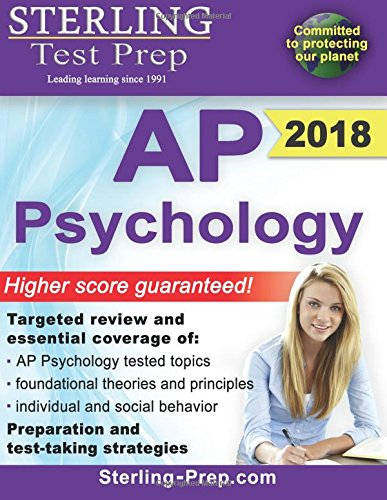 Sterling Test Prep AP Psychology: Complete Content Review for AP Psychology Exam (Ap Psychology Exam Review Book)