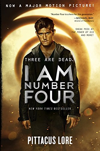 Book cover for I Am Number Four