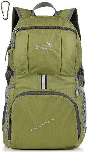 Outlander 2197Gear de viaje ligero Packable Daypack, verde
