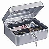 Geldkassette Traun-2 - Farbe: Silber