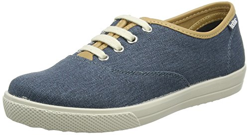 Hotter Mabel, Scarpe Stringate Oxford Donna Blue (Blue River)