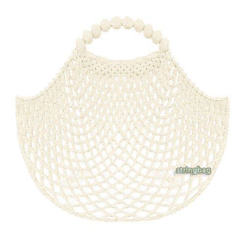 Einkaufsnetz kult weiß - SuperNetz - DeDeRon - Made in Germany