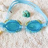 AWFFRHG Occhiali da nuoto Uomini Donne Occhiali da Nuoto per Bambini Professionali Occhiali da Nebbia per Bambini Occhiali da Immersione per Bambini Ragazzo Ragazza Ottica Riduzione dell'ab