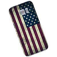 Slim Case for Samsung Galaxy S7 Edge. Tasche Cover. Flag of the United States. USA Flag.