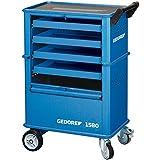 GEDORE 6627550 Carro porta-herramientas con 4 cajones