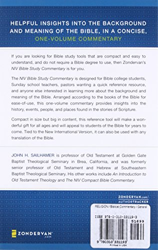NIV Bible Study Commentary - Buy Online in Oman  | Paperback