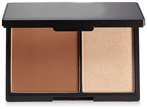 Duo de maquillage pour le contour. Petite boîte avec miroir, ton moyen by DELIAWINTERFEL