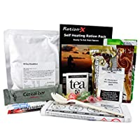 Self Heating Field Ration Pack Ready to Eat Meal Menu A 4